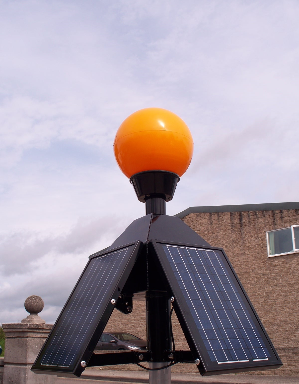 retrofit solar belisha beacon by fisher & Company
