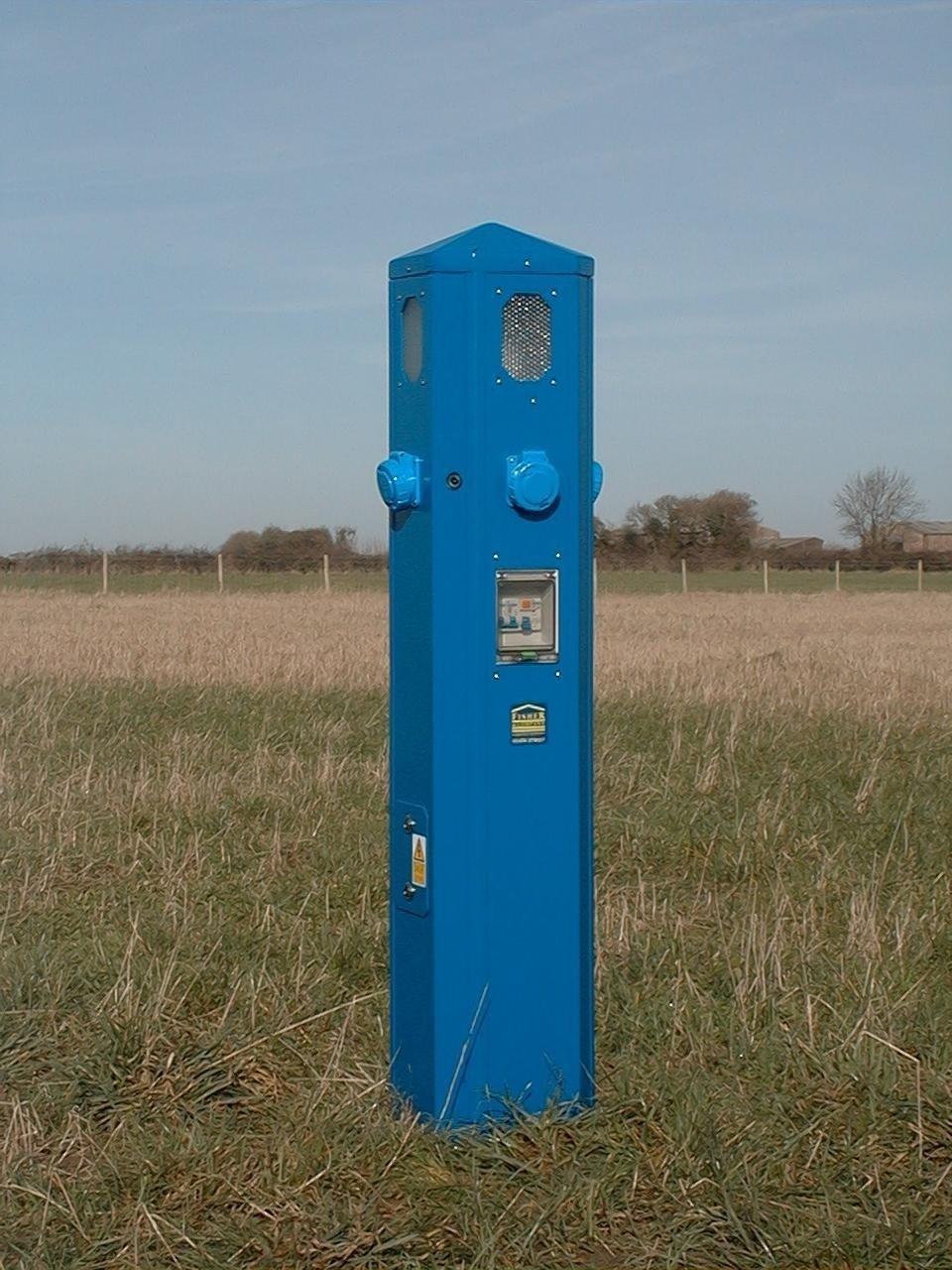 OCT Service Pillar . Blue